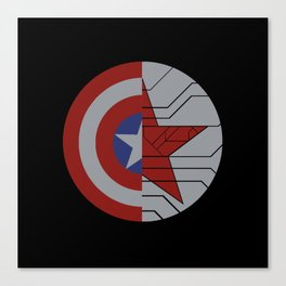 Stucky Shields (Without Quote) Canvas Print