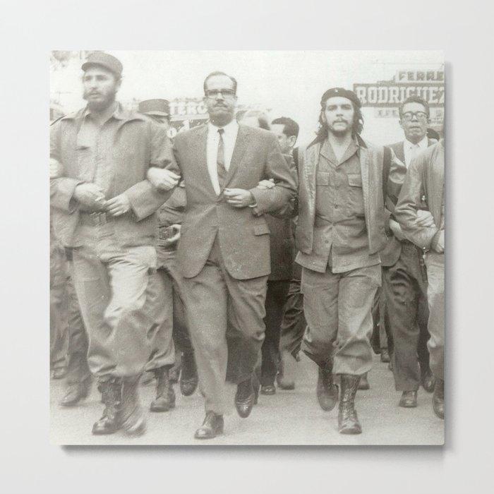 Che Guevara, Fidel Castro and Revolutionaries Metal Print