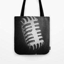Vintage Mic Tote Bag