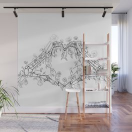 Our Love is Forever Wall Mural