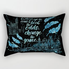 When you can't beat the odds, change the game. Six of Crows Rectangular Pillow