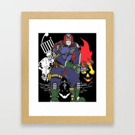 The Judges. Framed Art Print
