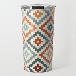 Aztec Block Symbol Ptn TCT Travel Mug