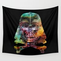 darth Wall Tapestries featuring Darth Cosmos by Beery Method