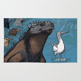 Galapagos species 1 Rug