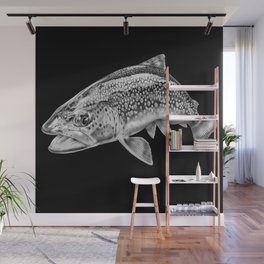 Brown Trout Wall Mural