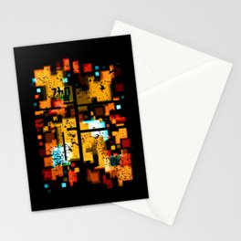 Abstract Composition #3 Stationery Cards