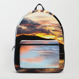 Dreamy Jasper Sunset Backpack
