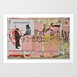 Brotherhood - Poughkeepsie, New York Art Print