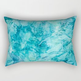 Dreams in Teal Rectangular Pillow