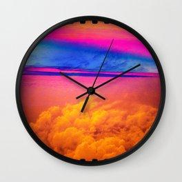 Sky Colorfully  Wall Clock