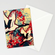 Two Cranes Stationery Cards