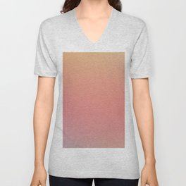 SOMETHINGS WRONG - Minimal Plain Soft Mood Color Blend Prints Unisex V-Neck