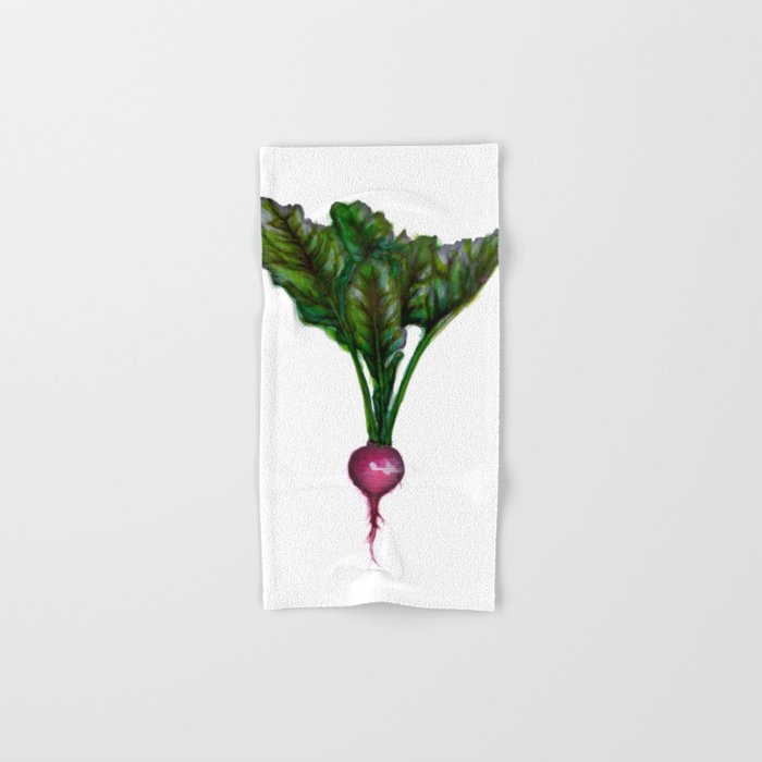 Rooted: The Radish Hand & Bath Towel
