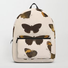 Vintage Scientific Hand Drawn Illustration Anatomy Of Butterfly Insect Patterns Biology Art Backpack