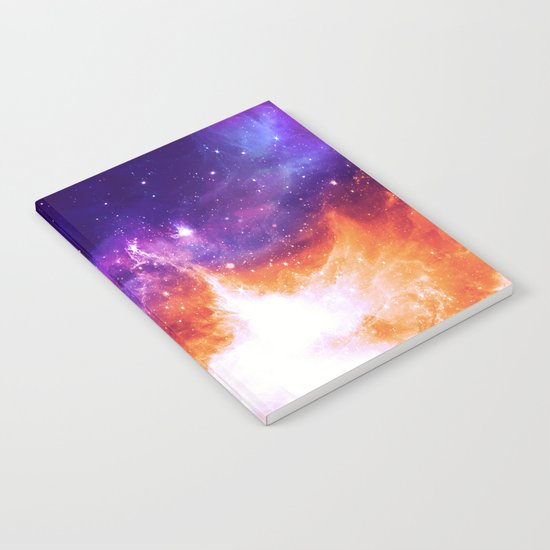 Stars & Flames Notebook
