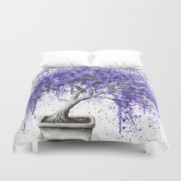Balancing Bonsai Duvet Cover