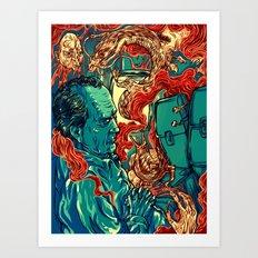Colored Nightmares  Art Print