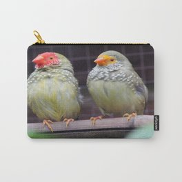 Star Finches Carry-All Pouch