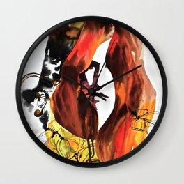Fleet Magnolia Wall Clock