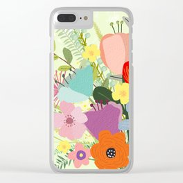 Bringing Summer Wildflowers Inside Clear iPhone Case