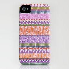 Butterfly Stripe Slim Case iPhone (4, 4s)