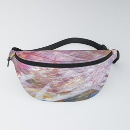 Colorful artistic wall painting Fanny Pack