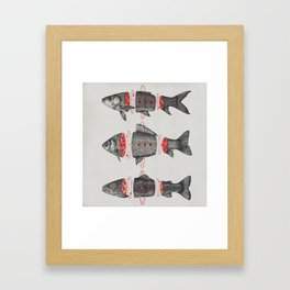 Sashimi All Framed Art Print