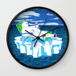 More Ice Please Wall Clock