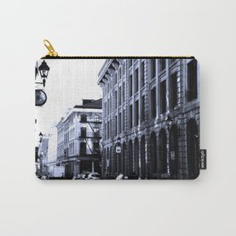 Street - Blue Carry-All Pouch