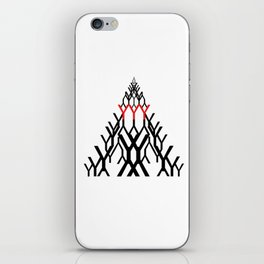 y-triangle iPhone Skin