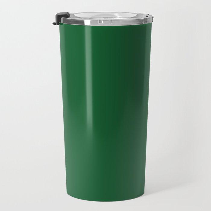 Green Bay Football Team Green Solid Mix and Match Colors Travel Mug