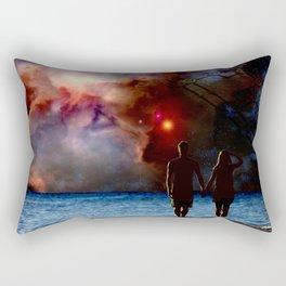The View Rectangular Pillow
