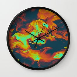DAY LIGHT AND BAD DREAMS IN A COOL WORLD FULL OF CRUEL THINGS Wall Clock