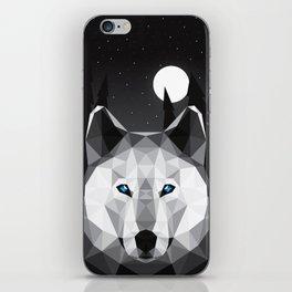 The Tundra Wolf iPhone Skin