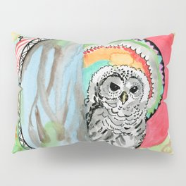 Owl Dreamcatcher Dream Pillow Sham