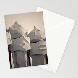 Gaudi's Chimneys Stationery Cards
