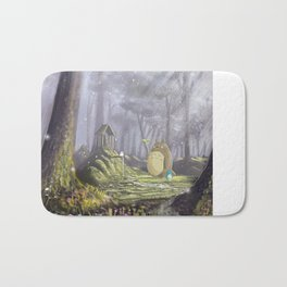 Totoro's Forest Bath Mat