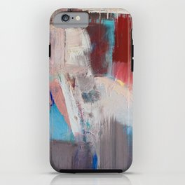 Abstract in Rust iPhone Case