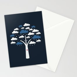 Cloud Tree Stationery Cards