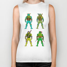 Superhero Butts - Turtles Biker Tank