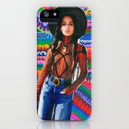 Zoe Kravitz iPhone Case