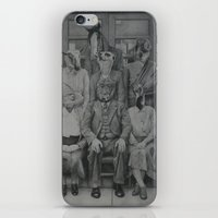 politics iPhone & iPod Skins featuring Office Politics by LeeBoydArtist