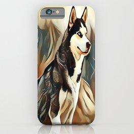 The Siberian Husky iPhone Case