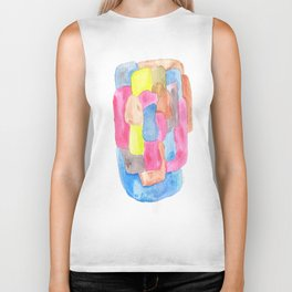 171013 Invaded Space 16  |abstract shapes art design |abstract shapes art design colour Biker Tank