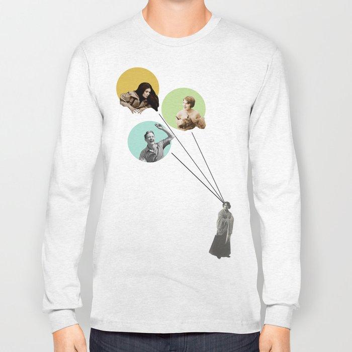 Love triangle and jealousy Long Sleeve T-shirt