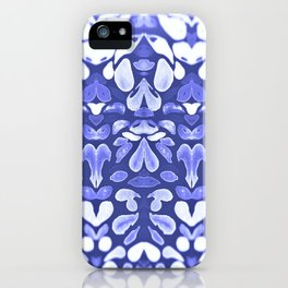 Winter is Coming, Cold Blue Winter Nights Are Coming iPhone Case