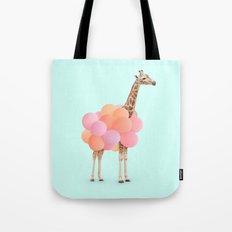 GIRAFFE PARTY Tote Bag