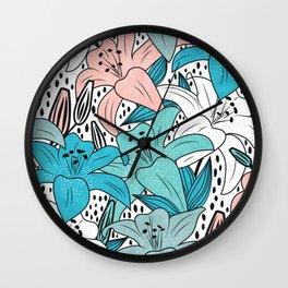 Fresh garden  Wall Clock