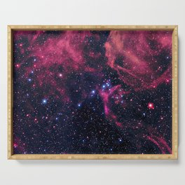 Supernova Remnant Serving Tray